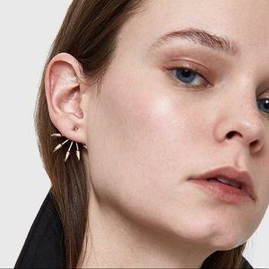 Pamela Love Five-Spike Earring Jacket SNGL GP